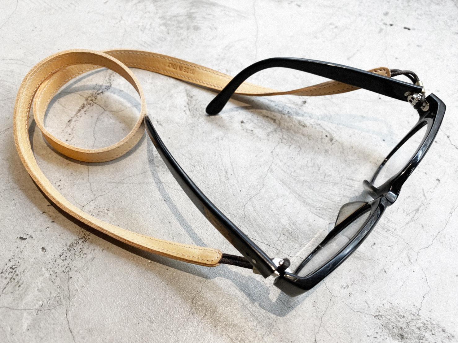 眼鏡皮革掛繩