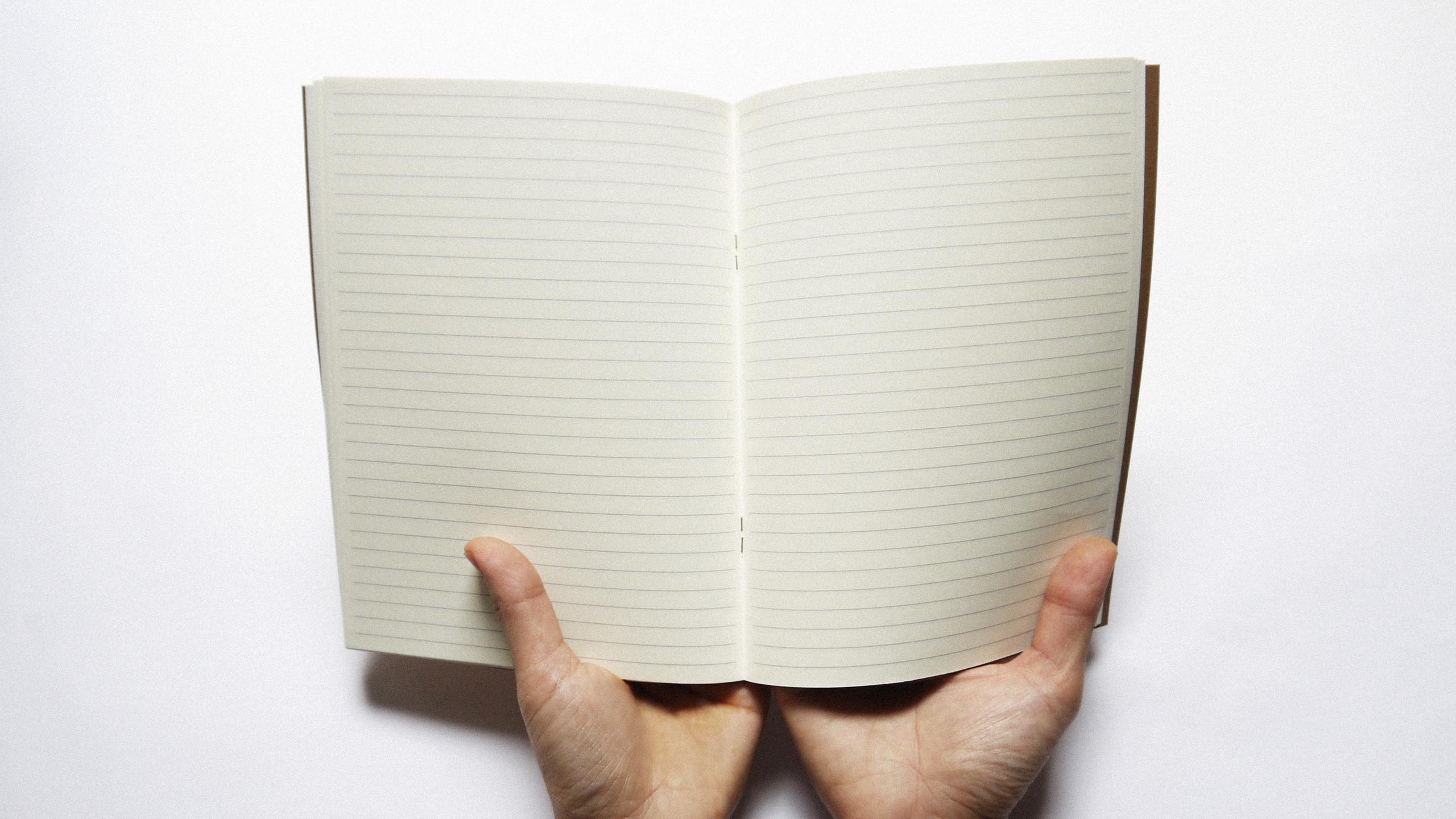 空白筆記內頁