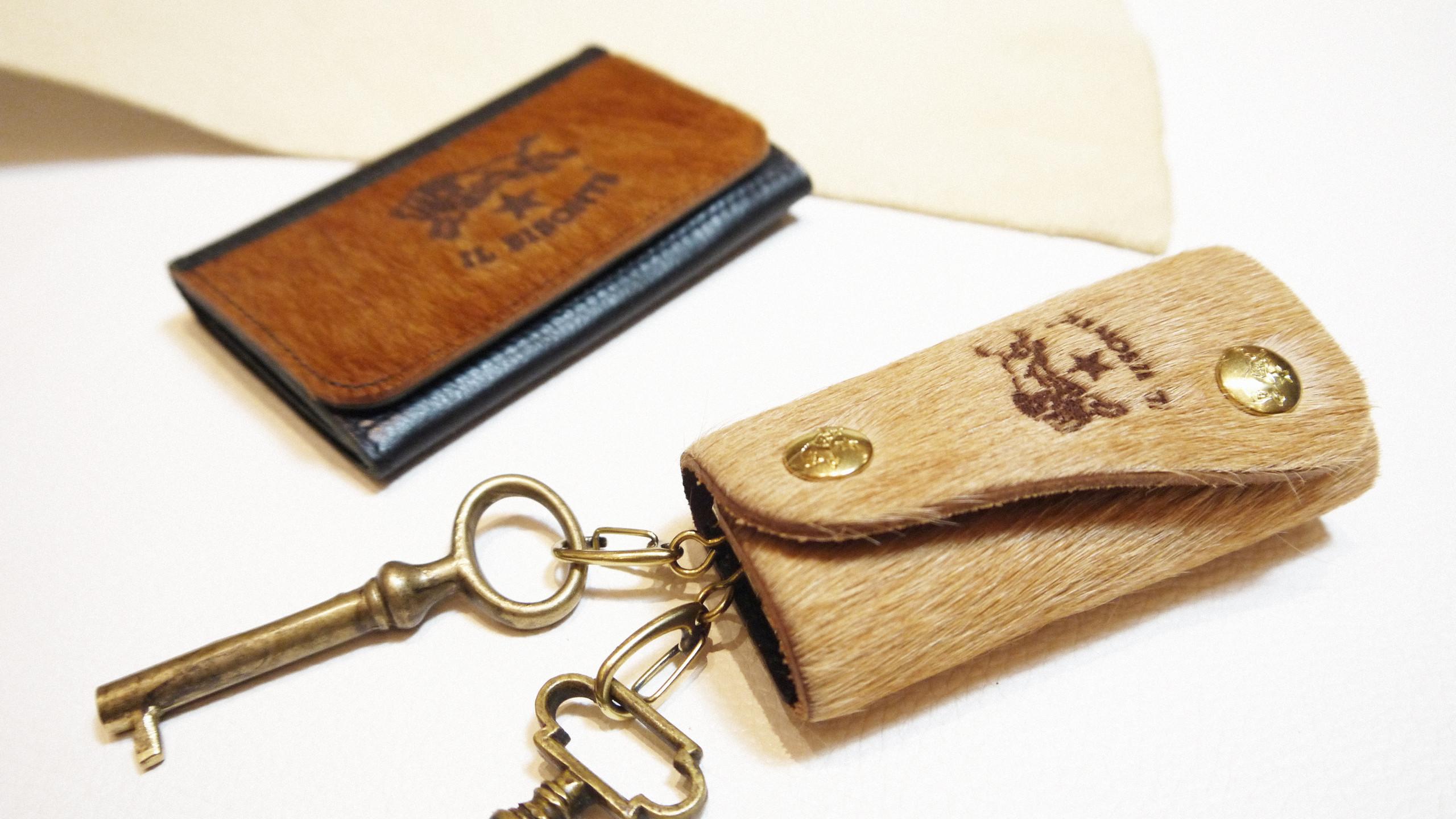 牛毛皮飾(名片夾、鑰匙圈)