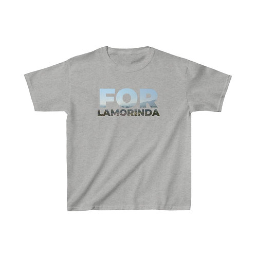 FOR LAMORINDA FOG Kids Heavy Cotton™ Tee