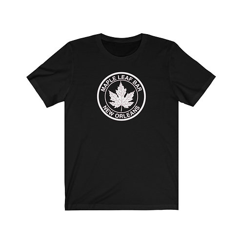 Maple Leaf Bar Circle Logo Unisex Tee