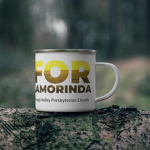 FOR LAMORINDA NEW Enamel Campfire Mug