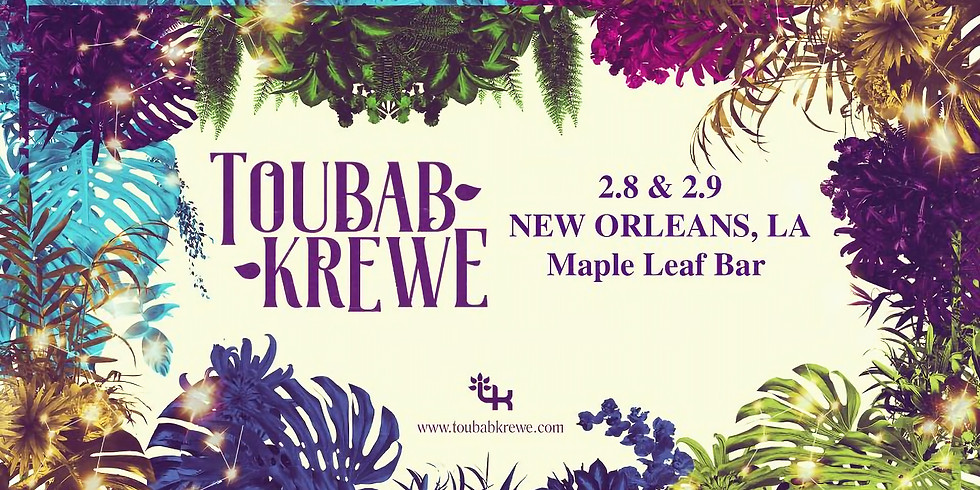 EARLY SHOW! Toubab Krewe LIVE CD Recording - Doors @7PM $15