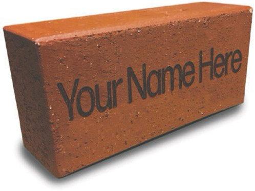 Custom Engraved Maple Leaf Patio Brick