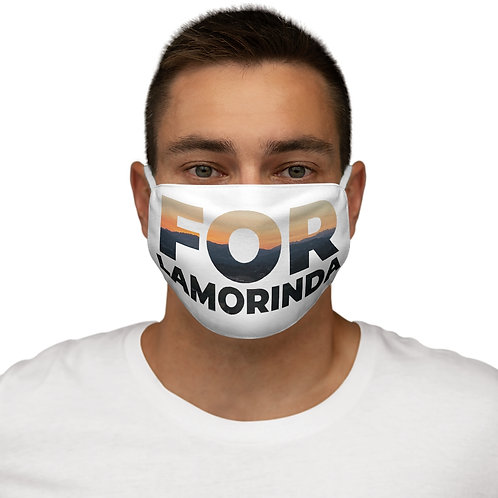 FOR LAMORINDA SUNSET Snug-Fit Polyester Face Mask