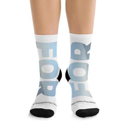 FOR LAMORINDA FOG DTG Socks