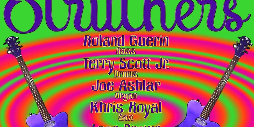 STRUTHERS, Feat. Eric Struthers, Khris Royal, Roland Guerin, Joe Ashlar, Terry Scott Jr 10pm $10