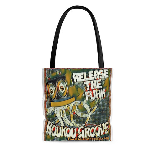 Boukou Groove Release The Funk Shoulder Tote