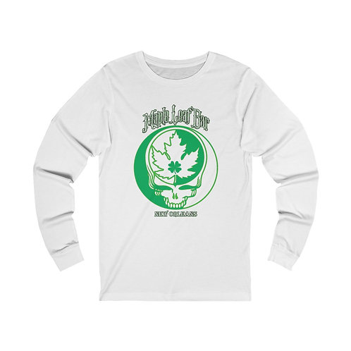 Maple Leaf Bar St. Patty's SYF Unisex Jersey Long Sleeve Tee