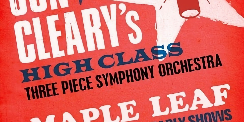 EARLY SHOW! Jon Cleary's High Class 3 Piece  Symphony Orchestra - 8pm $15