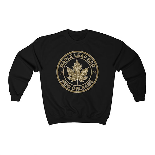 Maple Leaf Bar Gold Circle 1974 Heavy Blend™ Crewneck Sweatshirt