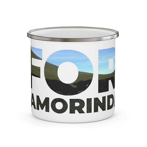 FOR LAMORINDA Enamel Campfire Mug