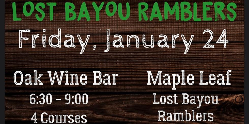 Bayou Teche Beer Dinner w/Lost Bayou Ramblers 6:30pm $55
