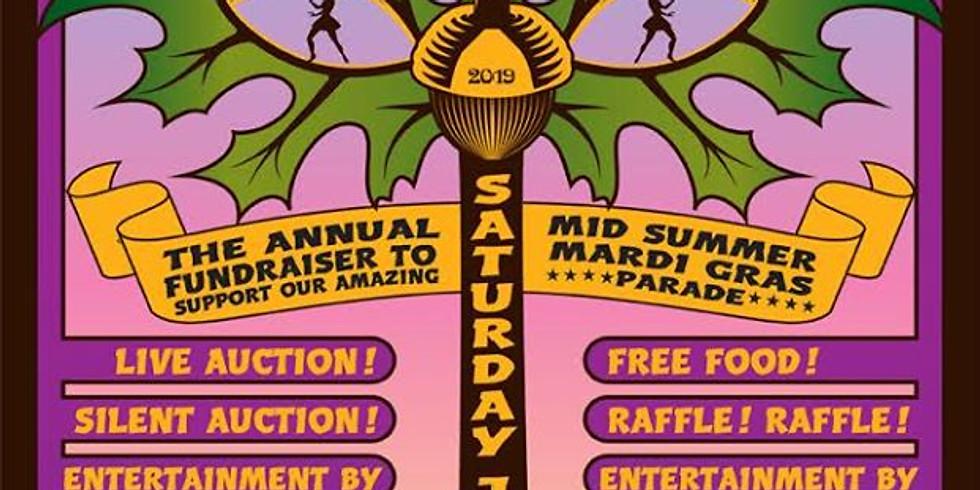Krewe of Oak Midsummer Mardi Gras Fun-raiser 6-10pm