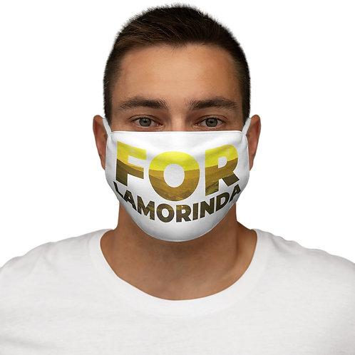 FOR LAMORINDA NEW Snug-Fit Polyester Face Mask