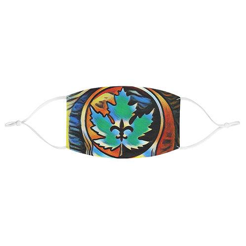 Maple Leaf Bar Stealie Brain Fabric Face Mask