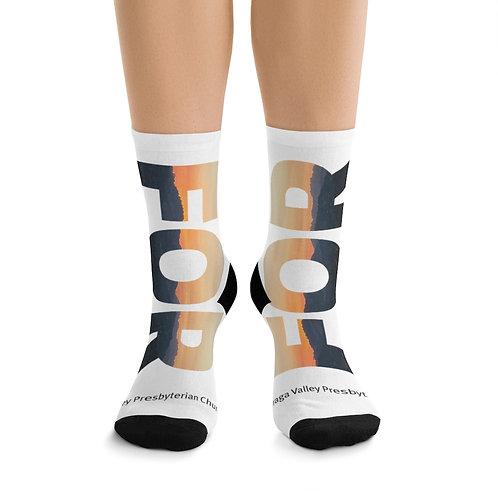 FOR LAMORINDA SUNSET DTG Socks