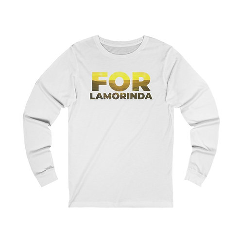FOR LAMORINDA NEW Unisex Jersey Long Sleeve Tee