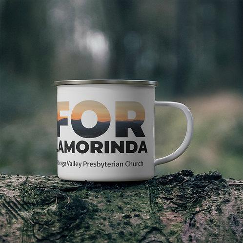 FOR LAMORINDA SUNSET Enamel Campfire Mug