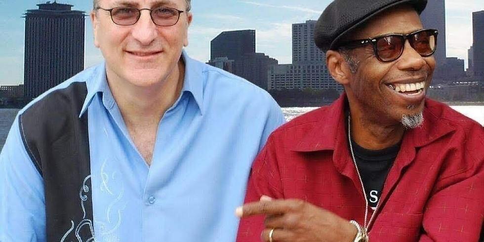 "EARLY SHOW: Joe Krown Trio w Walter ""Wolfman"" Washington 7PM $15"