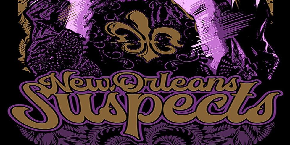 Lundi Gras w/New Orleans Suspects 10pm $15
