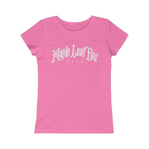Maple Leaf Bar Girls (Kids) Princess Tee