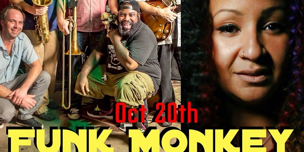 Funk Monkey w Special Guest Arsene DeLay 11pm $10