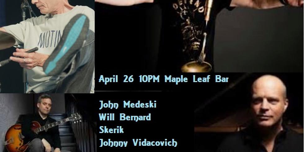 Medeski, Bernard, Skerik and Vidacovich 10pm - $25 Adv - DOOR $30