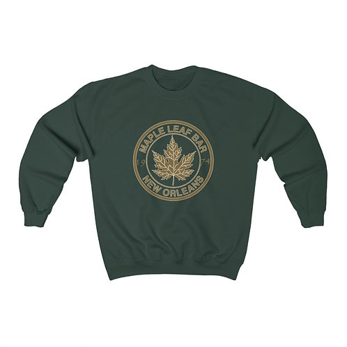 Maple Leaf Bar Gold Circle 1974 Heavy Blend™ Crewneck Sweatshirt