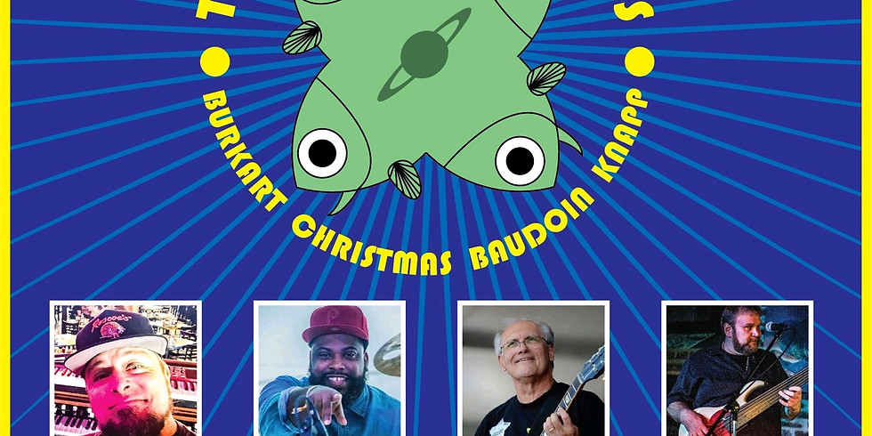 EARLY SHOW: The Cosmic Fishheads 7PM $15 Adv $20 Door