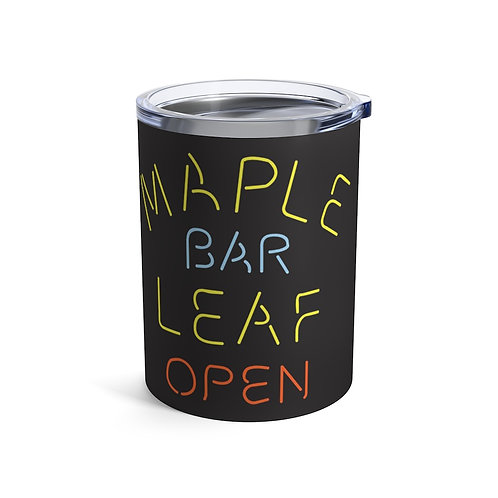 Maple Leaf Bar Open 10oz Stainless Cocktail Tumbler