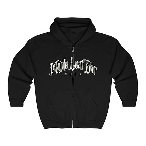 Maple Leaf Bar Unisex Heavy Blend™ Full Zip Hooded Sweatshirt