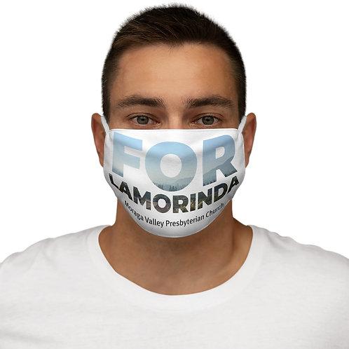 FOR LAMORINDA FOG Snug-Fit Polyester Face Mask