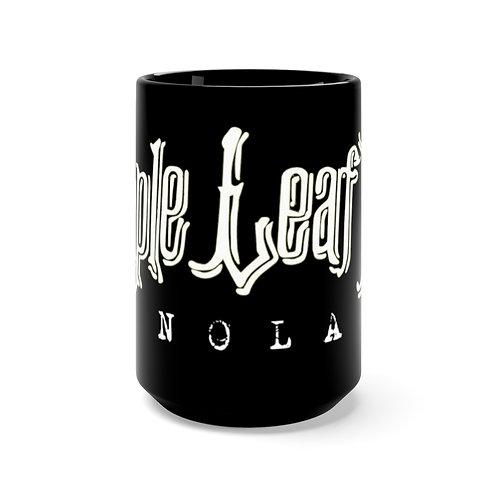 Maple Leaf Bar NOLA Black Mug 15oz