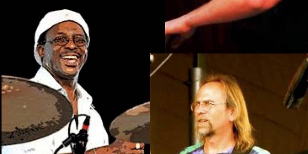 Herlin Riley, Eric Struthers & Joe Ashlar - Doors@10PM $10