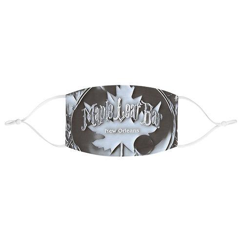 Maple Leaf Bar Kick Drum Fabric Face Mask