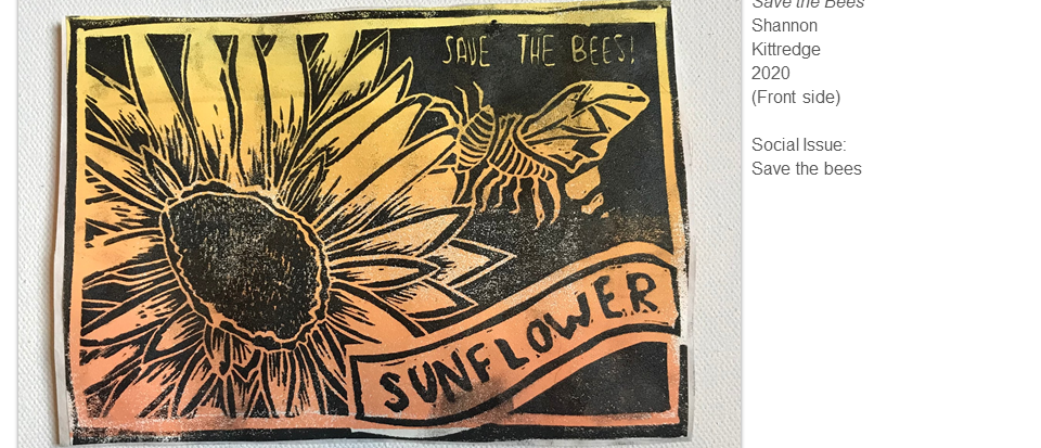 Save the Bees by Shannon Kittredge