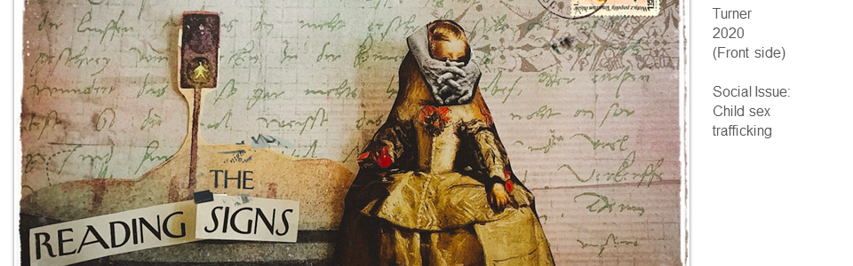 La Infanta Traficasteis de Las Meninas by Nicole Jean Turner