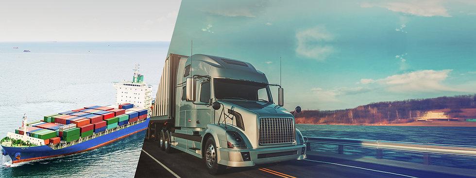 Logística flexible despacho envío a cualquier parte del mundo camión barco carga máquinas equipos corte y grabado láser CO2 Fibra impresoras UV