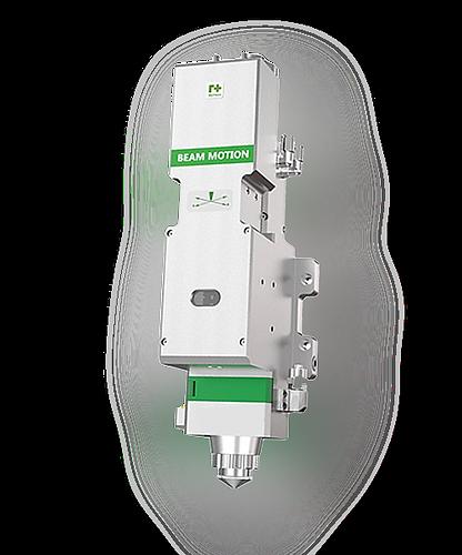 Cabezal Laser de fibra RAYTOOLS  BM 111 de enfoque manual automatico economico para corte de metal laminas disponible garantizado