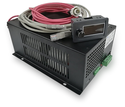 Fuente Láser CO2 de poder alimentación 130 150 energía chispa respuesta rápida tubo laser