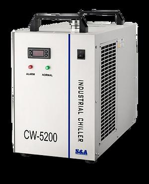 Chiller enfriador de agua industrial 150w cw5200 teyu chino garantizado importado nuevo sellado refrigeración sistema máquina laser CO2 Corte Grabado cali medellin bogota Colombia disponible entrega inmediata