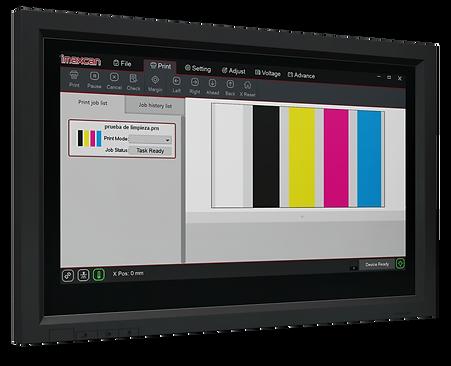 PRINT EXP Maxcan imaxcan software integrado controlador Impresora secado curado UV instantaneo rigidos cama plana gran formato