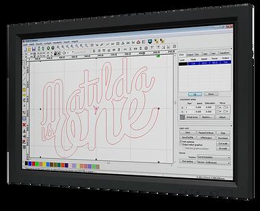 Software RD Works incluído para corte y grabado láser CO2