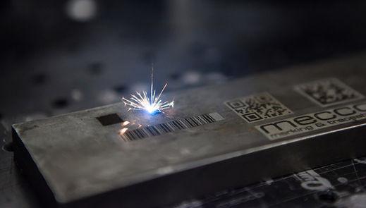 Grabado láser de Código de barras para control e inventario