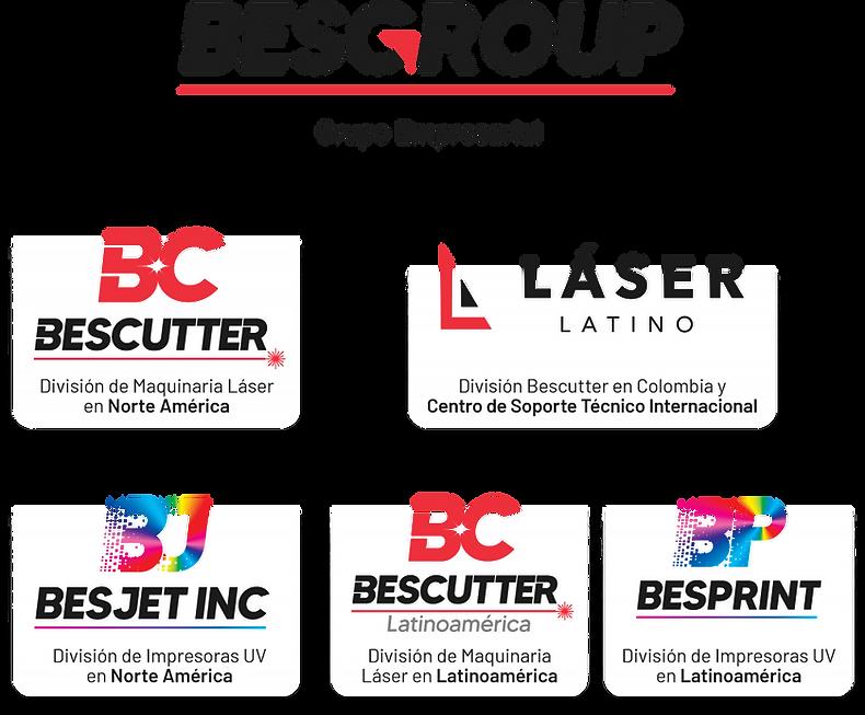 Que es BESGROUP BESCUTTER BESJET BESPRINT Laser Latino láser empresa grupo empresarial soporte internacional