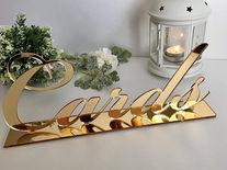 Letreros de Acrílico en cortado láser