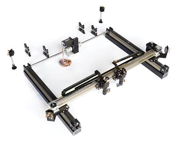 Sistema CNC Láser de Doble Cabezal con desplazamiento de eje X independiente