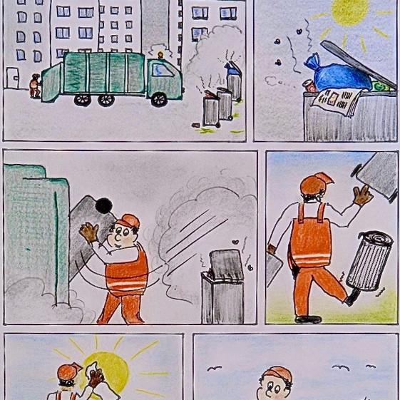 """""""Müllmänner"""" von Daniel W."""