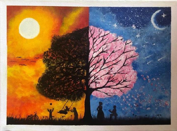 Gemälde von Sarah K.